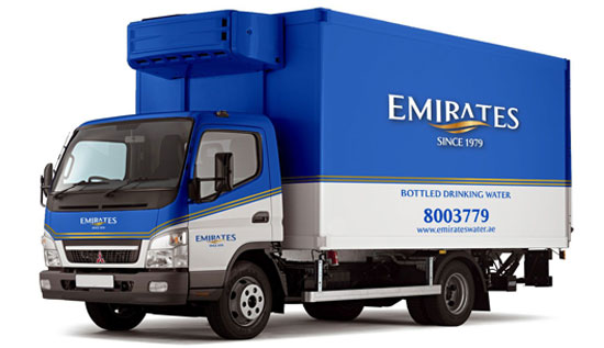 Emirates Water Truck